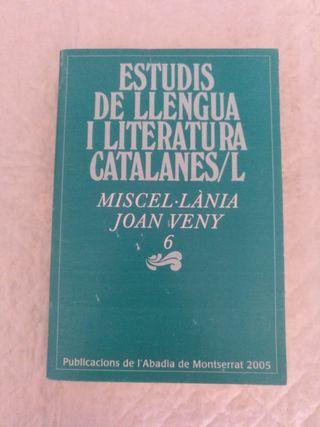 Estudis de llengua i literatura catalanes L. Libro
