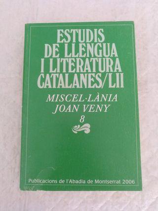 Estudis llengua i literatura catalanes LII. Libro