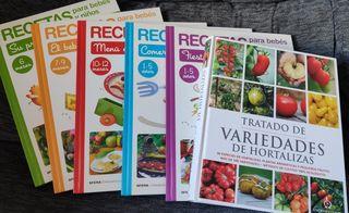 5 Libros Recetas para bebes y niños coleccion
