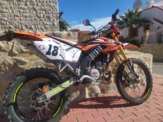 Motor Hispania enduro 50cc