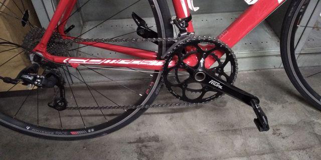 bicicleta carretera carbono btwin