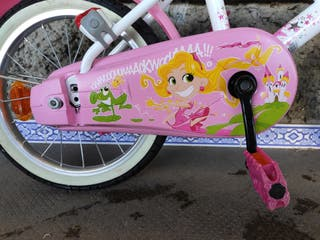 Bicicleta infantil, 16 pulgadas (De 4.5 - 6 años).