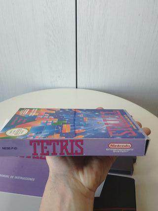 juego Tetris de Nintendo NES completo Pal España