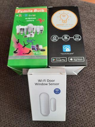 Bombillas y sensor WIFI