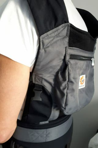 mochila portabebés. hasta 6 años.