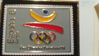 pin olimpiadas barcelona