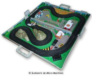 scalextric micromachines antiguo