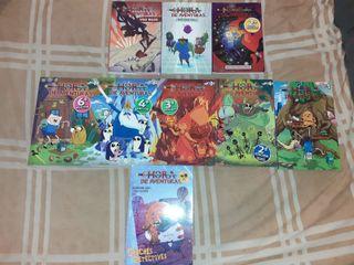 Vendo lote de comics de hora de aventuras