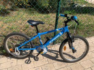 Bici infantil niño/niña 20 pulgadas 5-10 años