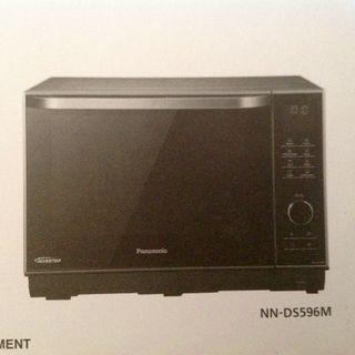 Microondas invertir marca Panasonic