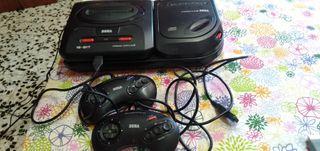 Sega Megadrive 2 + Megacd