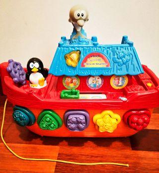Juguete barco de aprendizaje y diversión - niñ@s