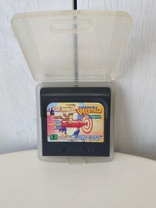 juego speedtrap de sega Game gear