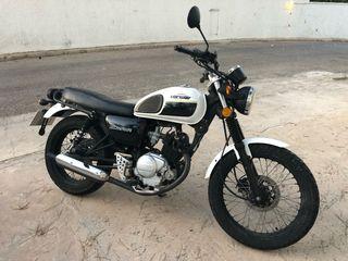 Moto 125 Hanway RAW CAFÉ