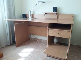 Mesa escritorio para estudio y pc grande