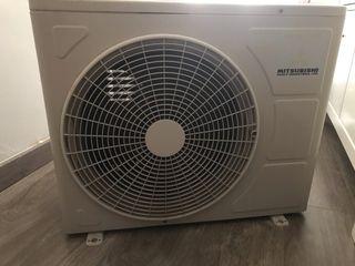 Unidad exterior aire acondicionado Mitsubishi