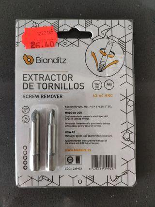 extractor de tornillos