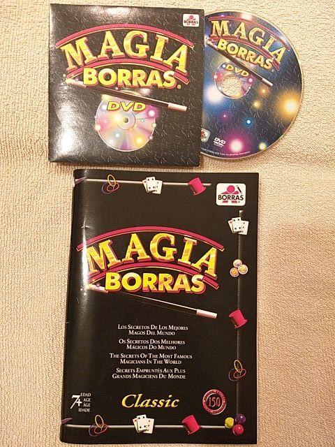 JUEGO MAGIA BORRAS CON DVD EN PERFECTO ESTADO!!!