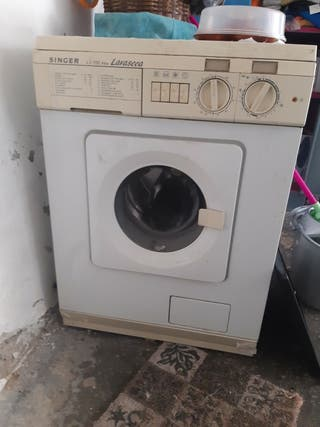 lavadora secadora vieja