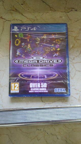 Sega Mega drive Classics PS4 nuevo TIENDA