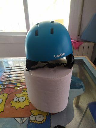 casco esqui, bici, monopatin