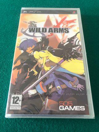 Wild Arms XF. PSP