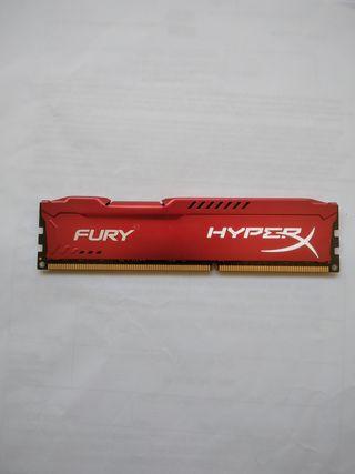 RAM DRR3 8GB 1866 Hyperx Fury