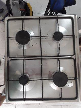 encimera horno y fregadero