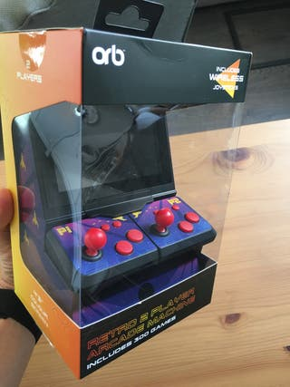 Consola de videojuegos arcade