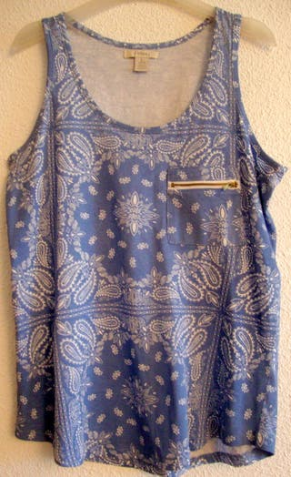 Camiseta Azul Sfera L