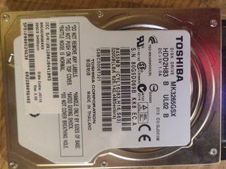 Disco duro memoria RAM portátil Toshiba Satellite