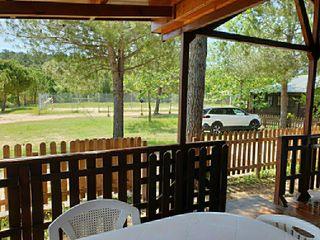 Casa de madera en Camping Los Carasoles