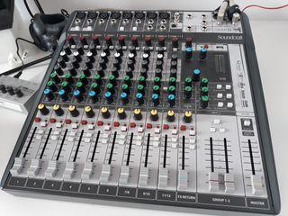 Mesa de mezclas interfaz audio usb