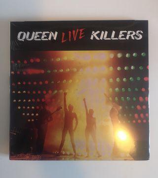 Doble CD Live Killers de Queen