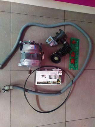despiece lavadora secadora Indesit iwdc6145