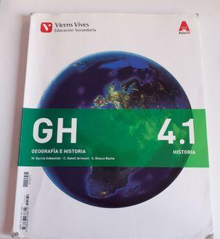 Libro de texto de Geografía e Historia 4°ESO