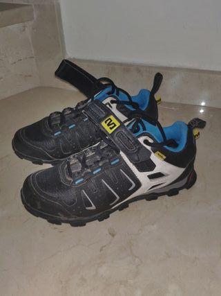 Zapatillas de bici mavic con calas