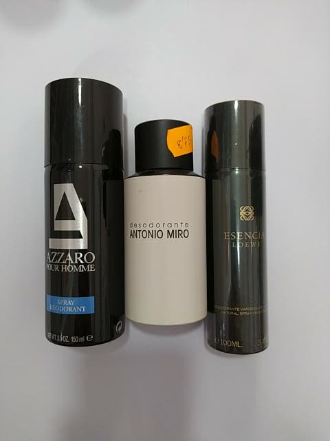 Desodorante marcas hombre