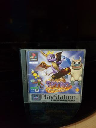 Spyro 3 El año del dragón Ps1