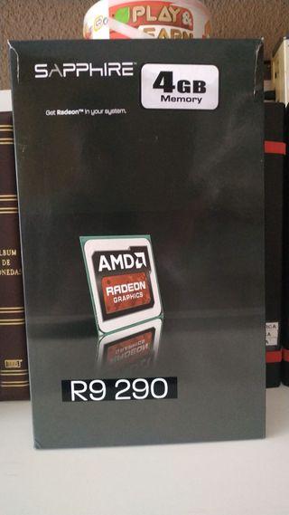 Tarjeta Grafica AMD Radeon Sapphire R9 290 4GB