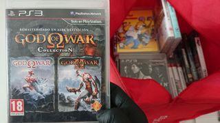 Juego God of War Collection de Ps3