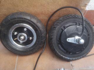 despiece patinete eléctrico ruedas completas