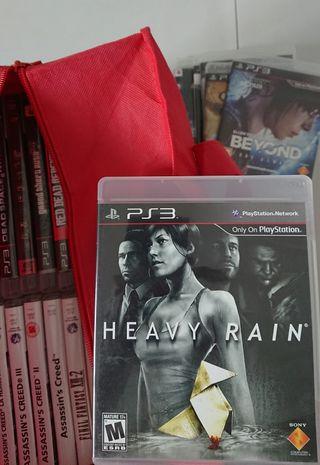 Juego Heavy Rain de Ps3