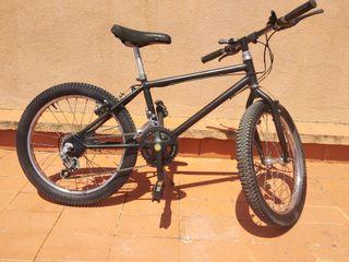 Bicicleta MTB Infantil niño 20 pulgadas 14 velocid