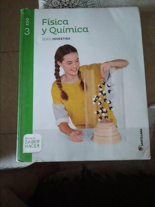 libro de texto física y química 3 ESO