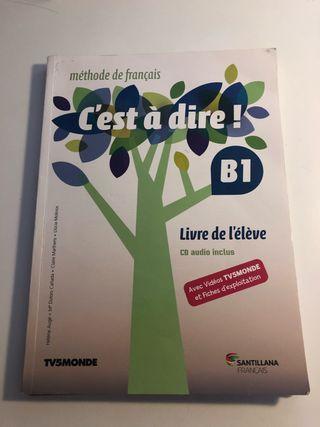Libros francés Santillana C'est á dire! B1