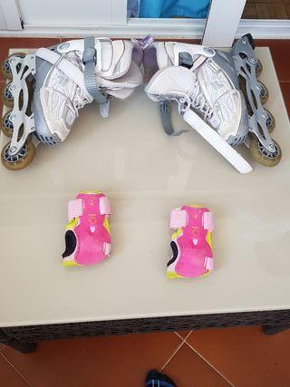 patines cuatro ruedas linea marca Fila