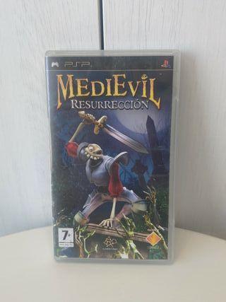 juego medievil resurrección de consola PSP