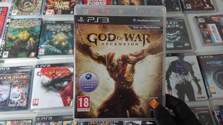 Juego God of War Ascension de Ps3