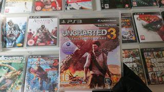 Juego Uncharted 3 de Ps3